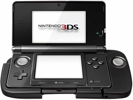 Zusatz-Controller und neue Games für die 3DS