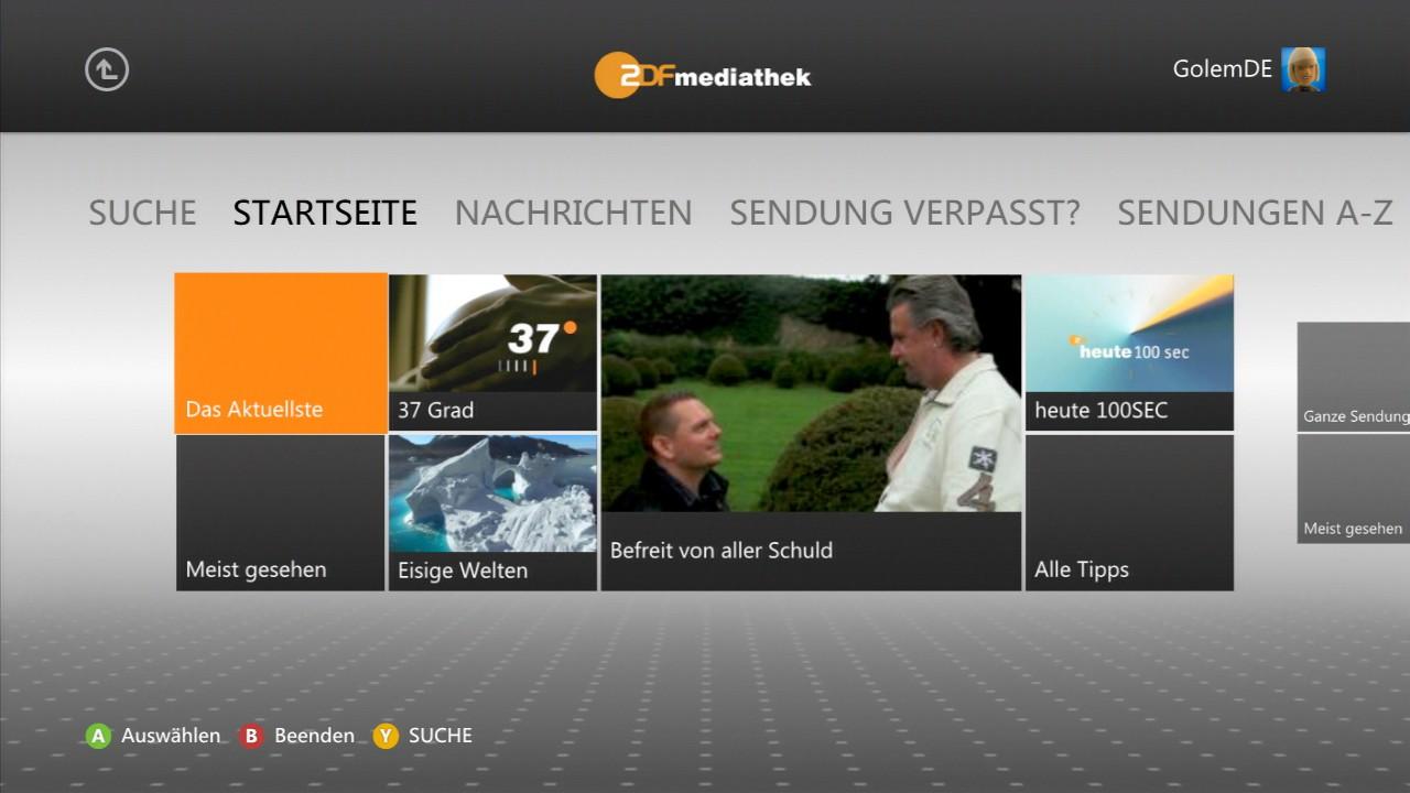 Xbox 360: Keine ARD-Mediathek geplant