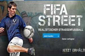 FIFA Street für Play Station 3 und Xbox 360 erhältlich