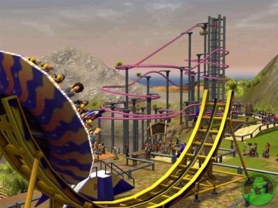 Rollercoaster Tycoon für den Nintendo 3DS