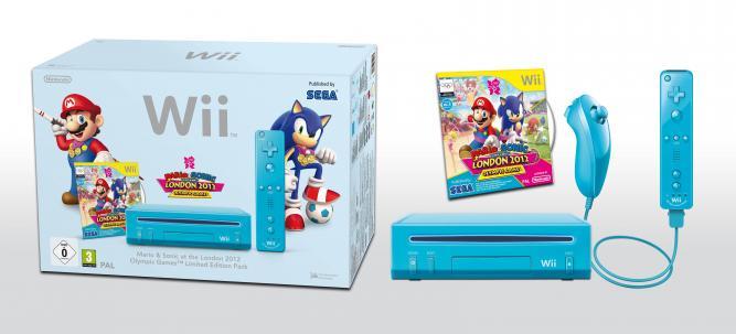 Nintendo: Blaue Wii für Olympia 2012