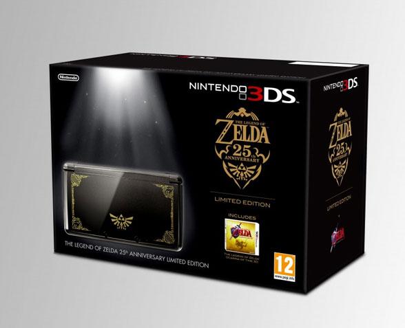 Nintendo 3DS im Zelda-Look